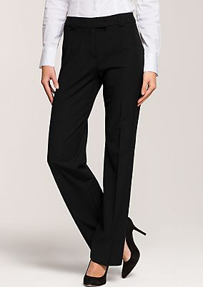 Classic suit trousers in an elegant, simple design from s.Oliver