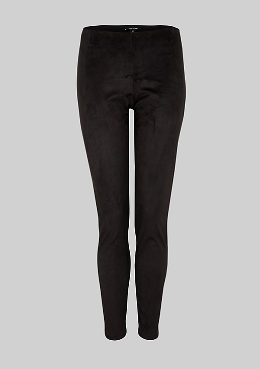 Elegant leggings in imitation leather from s.Oliver