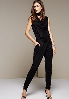 Elegant jumpsuit with wonderful details from s.Oliver
