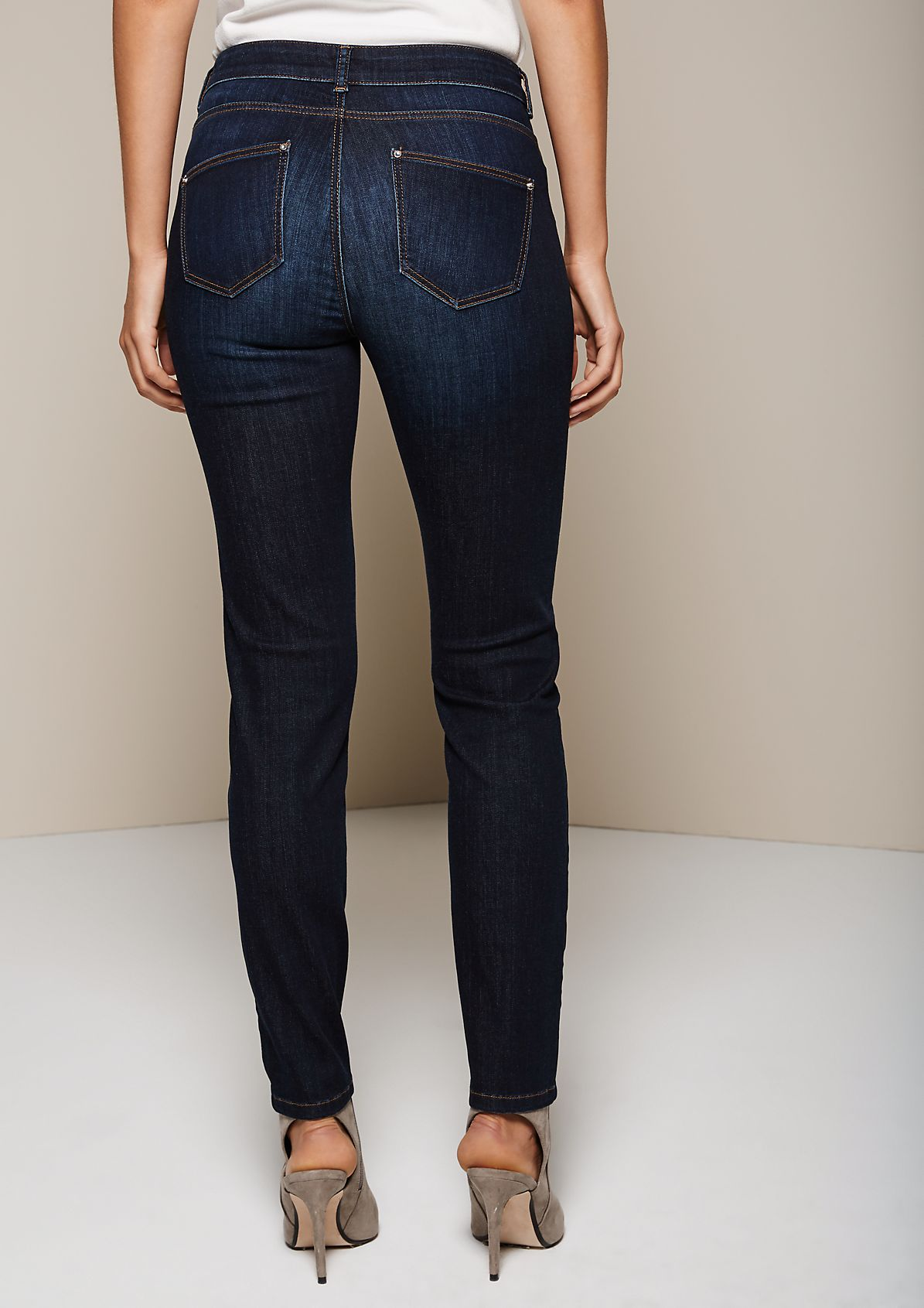 Cool jeans in a beautiful vintage wash from s.Oliver