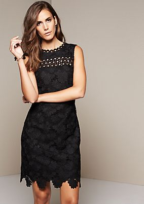 Elegant evening dress in elegant lace from s.Oliver