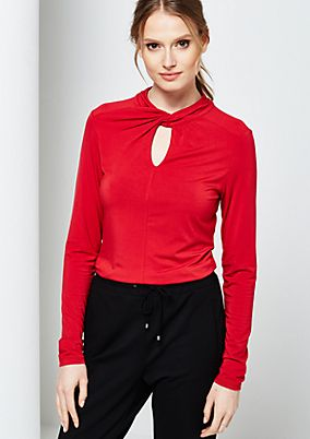 Beautiful long sleeve top with sophisticated details from s.Oliver