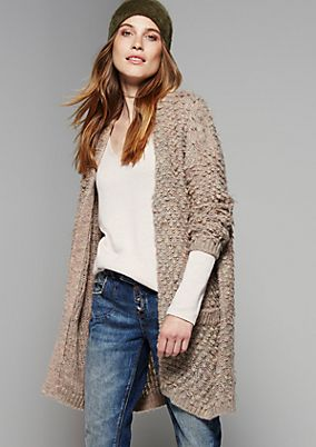 Casual cardigan made from soft multi-coloured yarns from s.Oliver