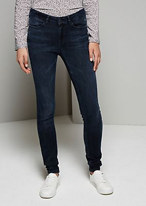 Feminine jeans with wonderful details from s.Oliver