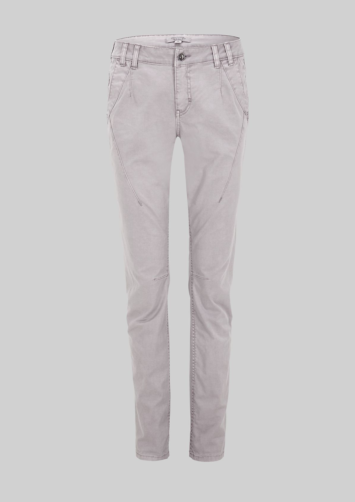 Smart twill trousers in a vintage look from s.Oliver