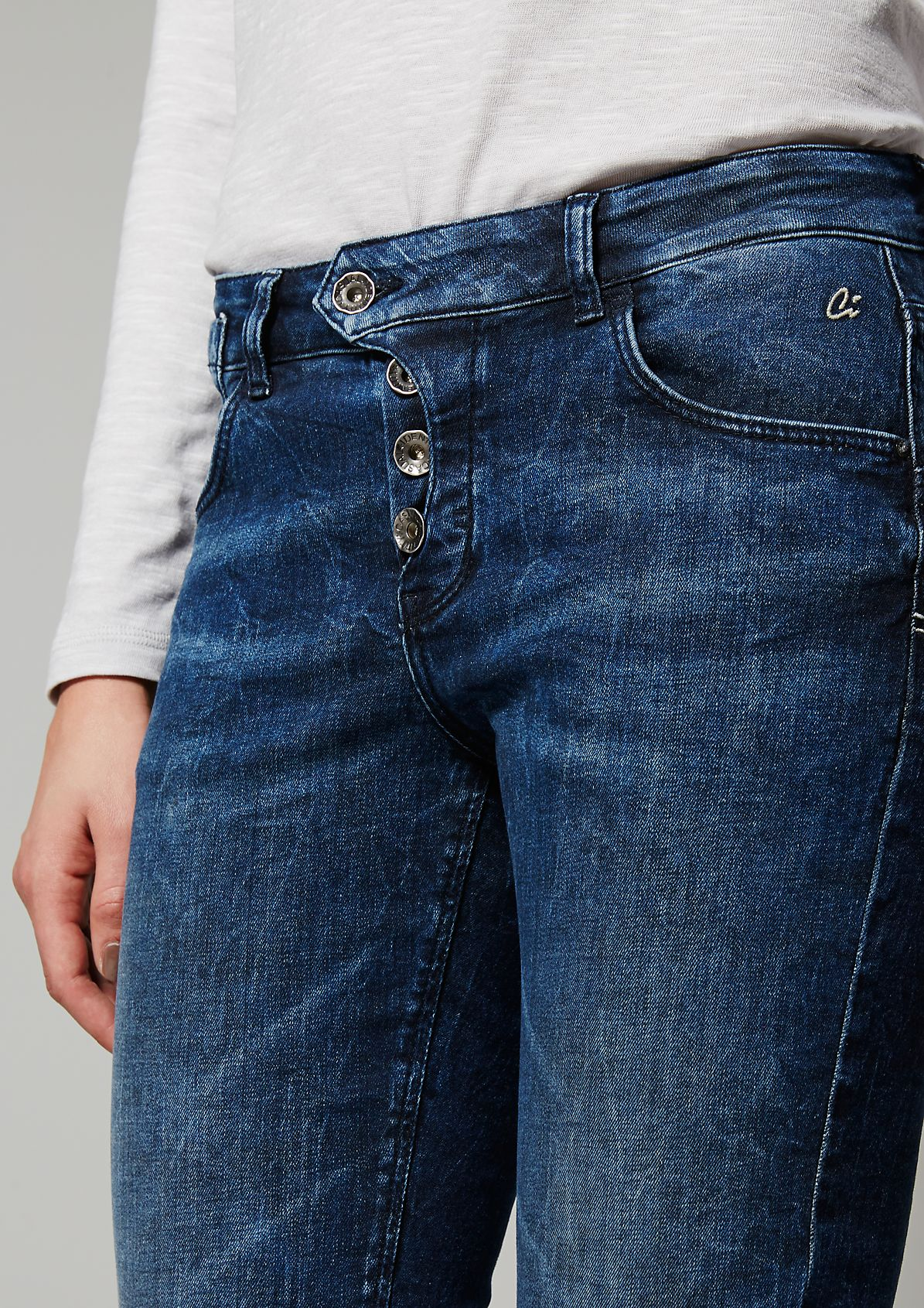 Casual jeans in a discreet wash from s.Oliver