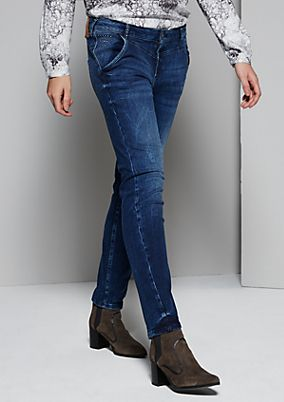Classic boyfriend jeans with a vintage finish from s.Oliver
