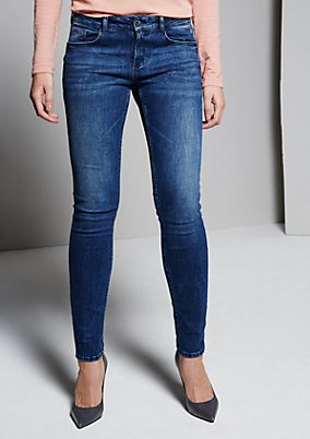Classic jeans with a trendy vintage finish from s.Oliver