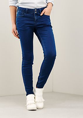 Lightweight jeans in an exciting vintage look from s.Oliver