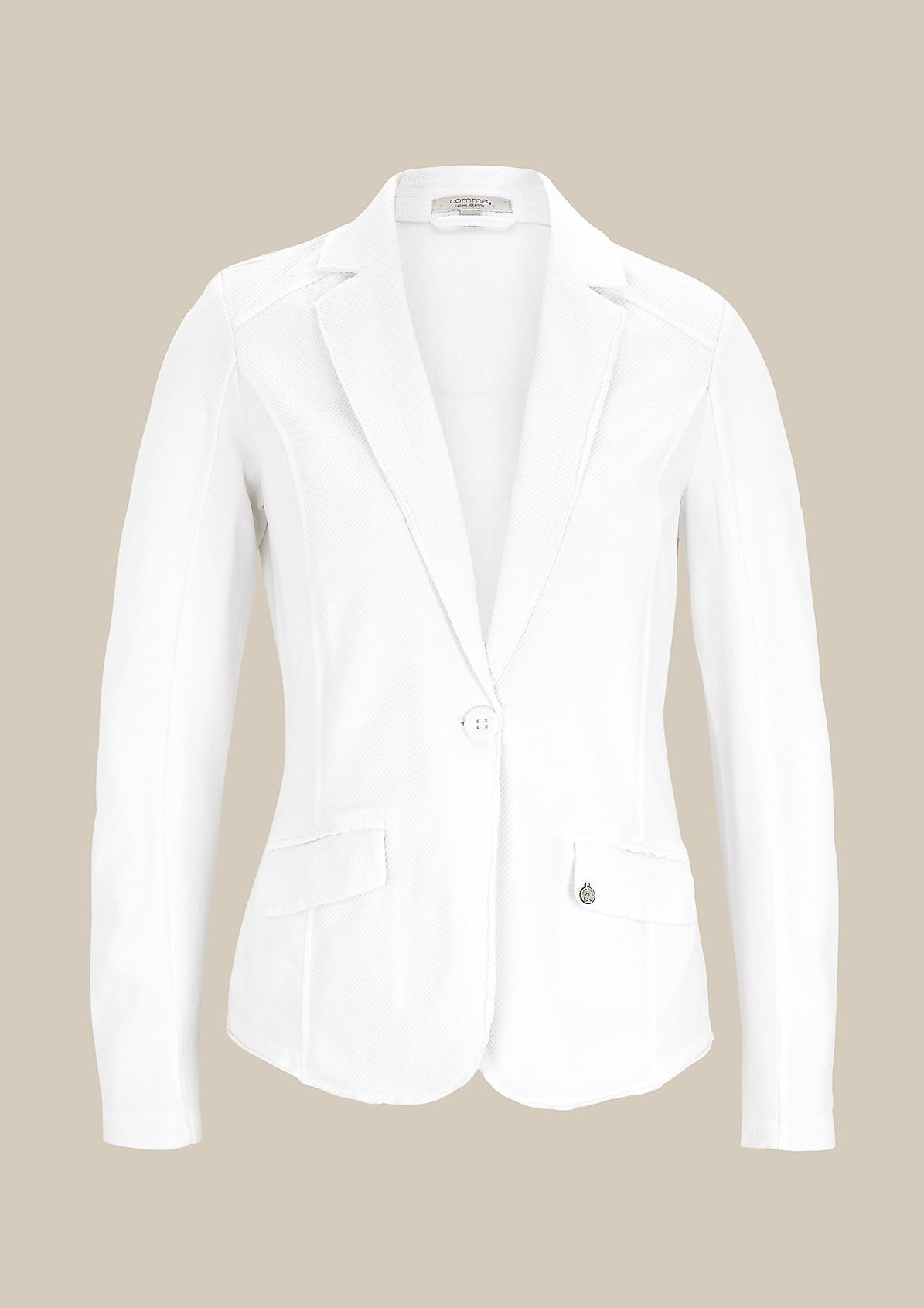 Lightweight summer blazer in a pattern mix from s.Oliver
