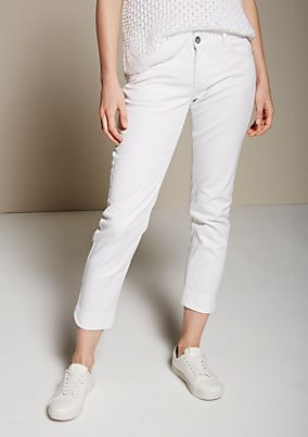 Feminine 7/8-length jeans with beautiful detailing from s.Oliver