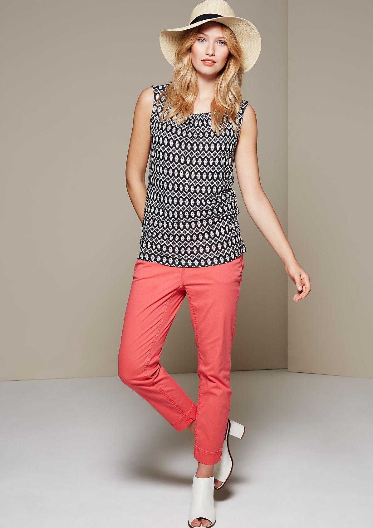 Lightweight summer top with a pretty pattern from s.Oliver