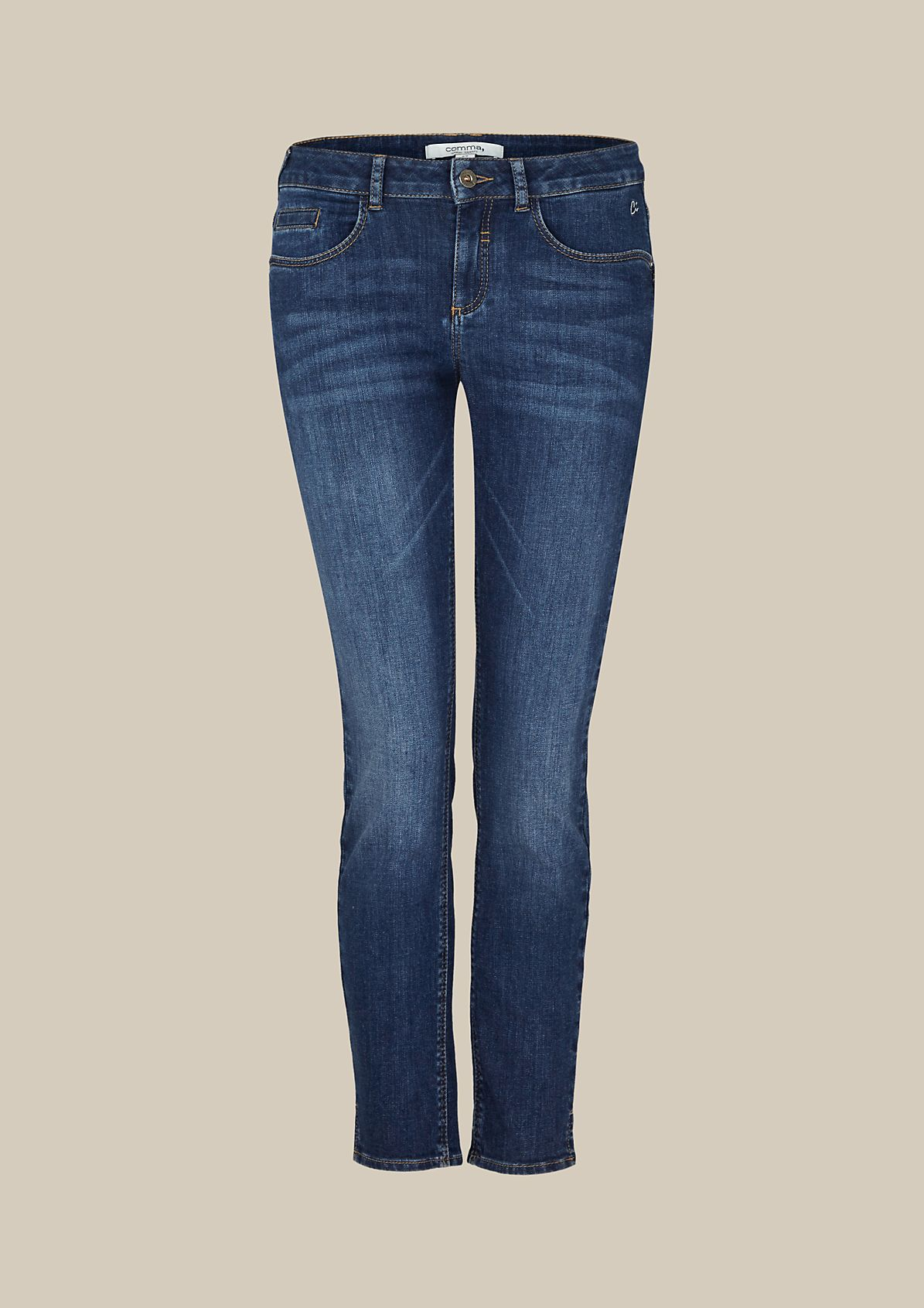 Lightweight jeans with a beautiful vintage finish from s.Oliver