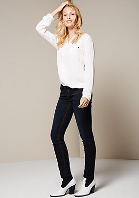 Elegant long sleeve blouse with decorative details from s.Oliver