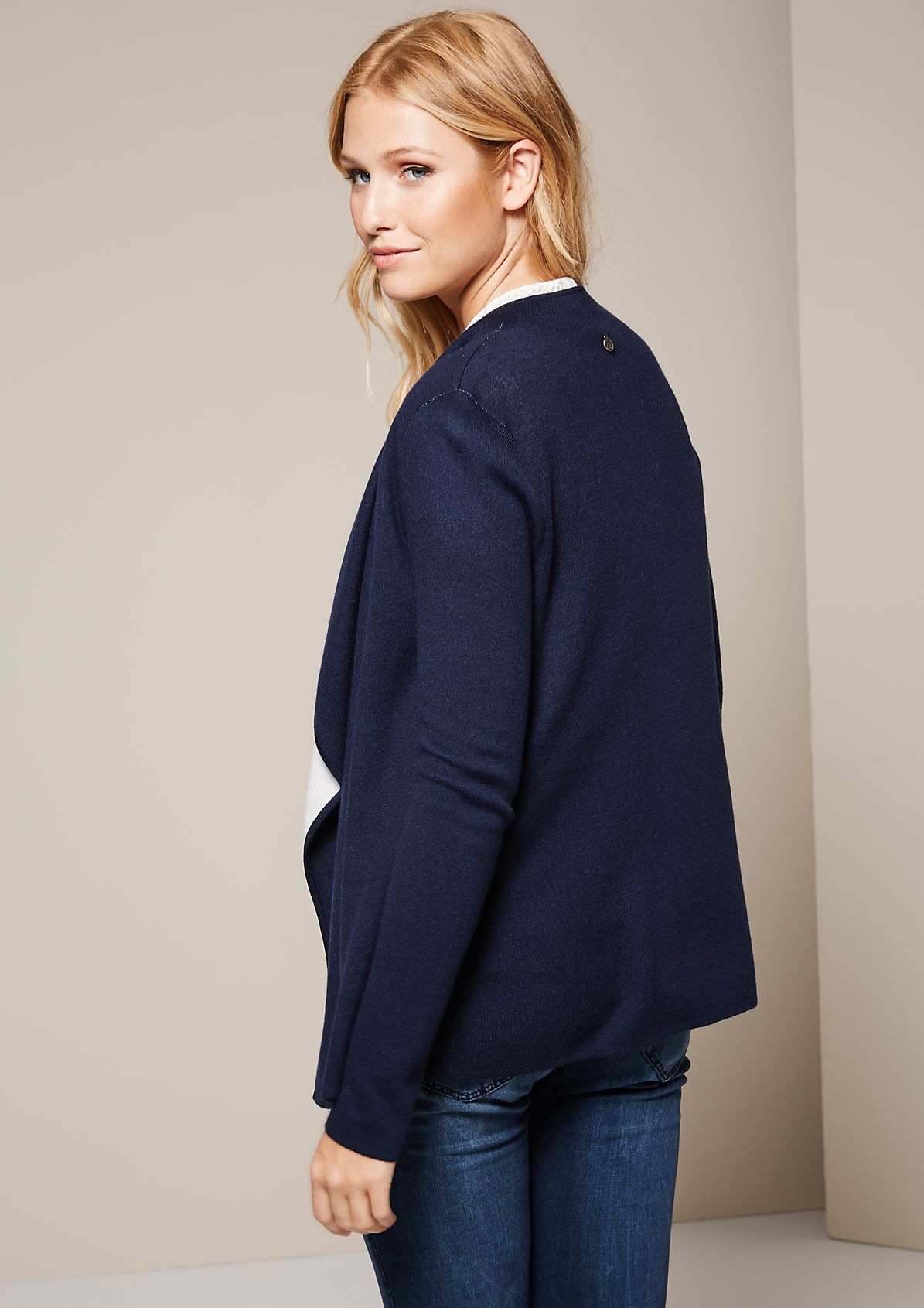 Soft cardigan with beautiful details from s.Oliver