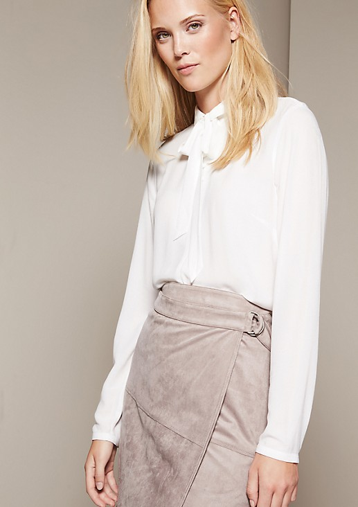 Relaxed casual blouse with great details from s.Oliver