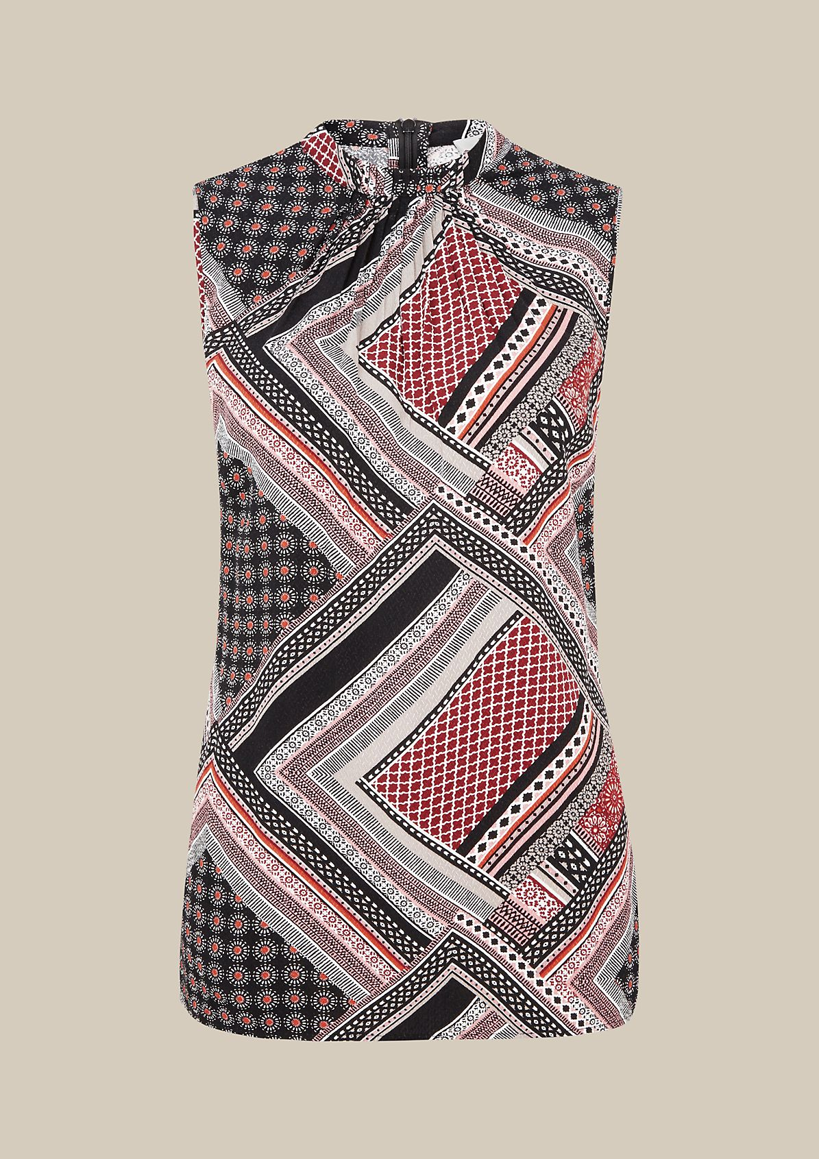Lightweight top with a decorative all-over pattern from s.Oliver