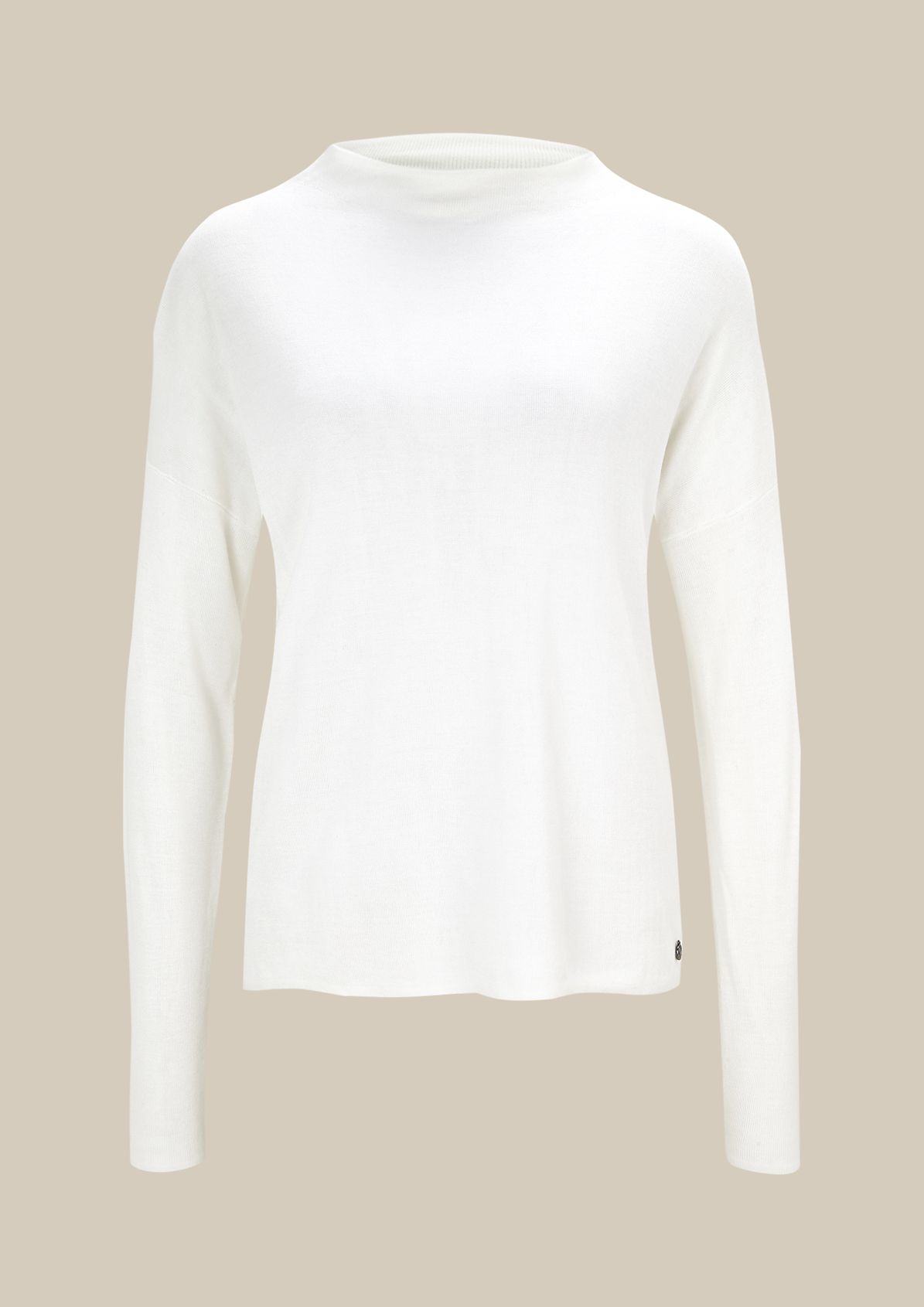 Beautiful knitted jumper with fine detailing from s.Oliver