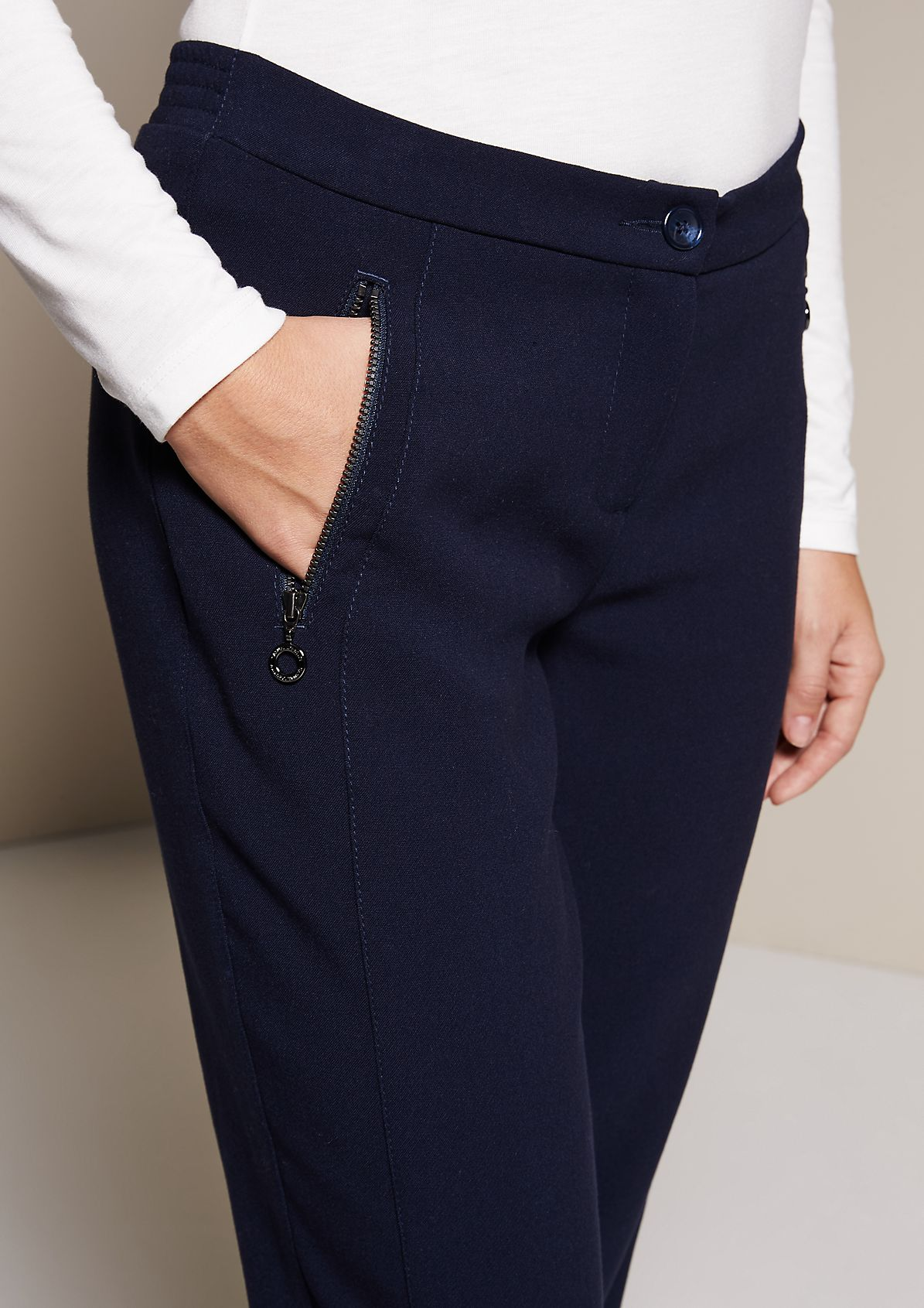 Extravagant casual trousers with beautiful details from s.Oliver