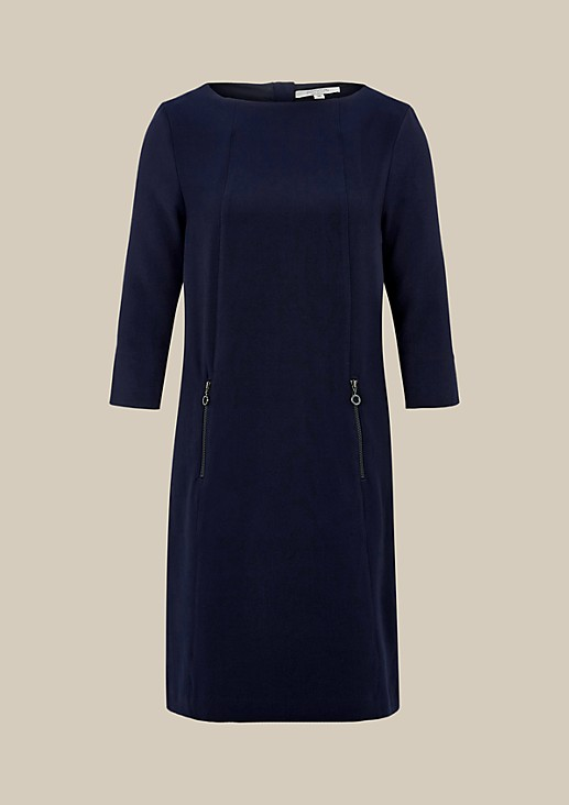 Elegant business dress with 3/4-length sleeves from s.Oliver