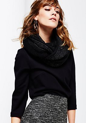 Cosy chunky knit with great details from s.Oliver