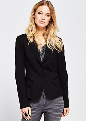 Elegant business blazer with decorative details from s.Oliver