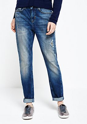 Fine five-pocket jeans in a vintage look from s.Oliver