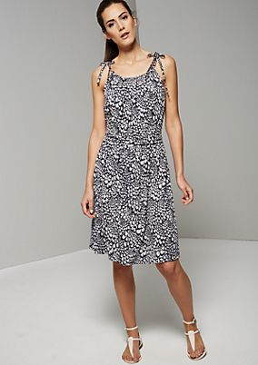 Casual summer dress with an exciting pattern from s.Oliver