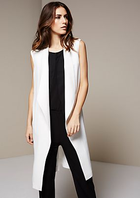 Super stylish long cardigan with fabulous details from s.Oliver