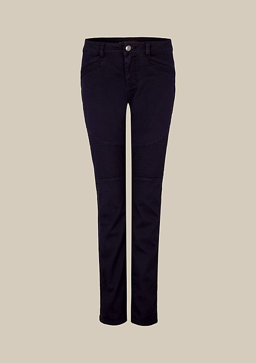 Extravagant jeans with attractive topstitching from s.Oliver