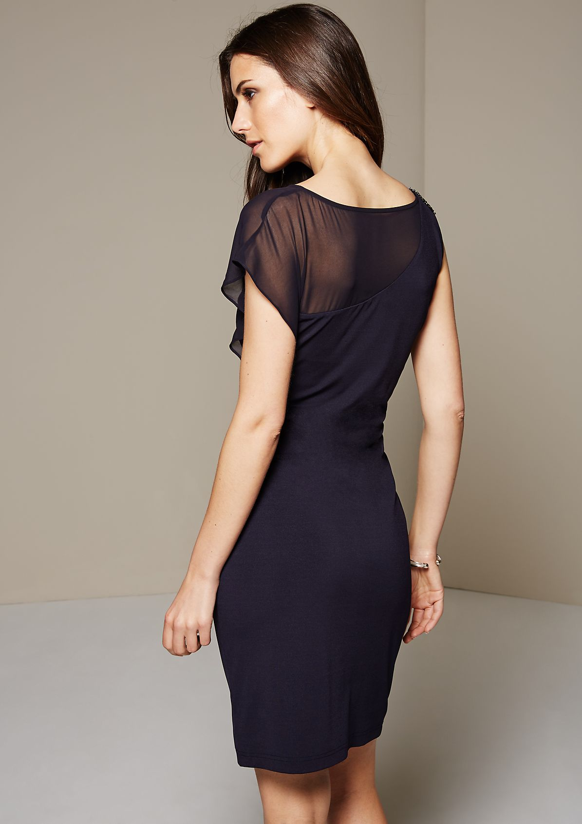 Enchanting evening dress with beautiful details from s.Oliver