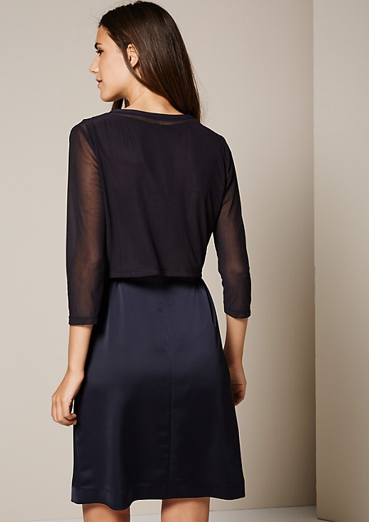 Beautiful bolero made of delicate mesh from s.Oliver