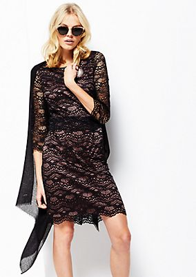 Elegant sheath dress in delicate lace from s.Oliver