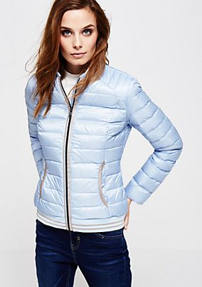 Lightweight down jacket with a beautiful quilted pattern from s.Oliver