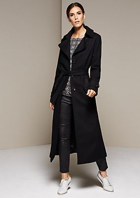 Winter trench coat from s.Oliver