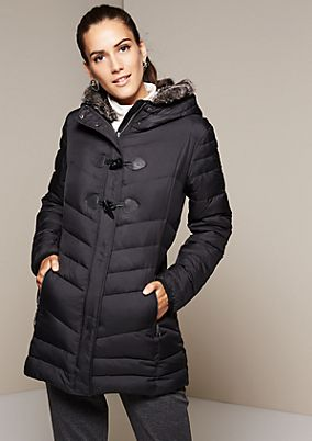Warm parka with a hood from s.Oliver