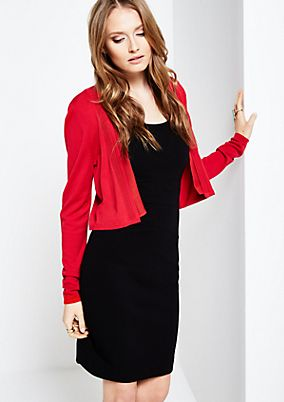 Short cardigan with long sleeves from s.Oliver