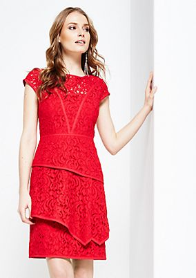 Glamorous, delicate lace evening dress from s.Oliver