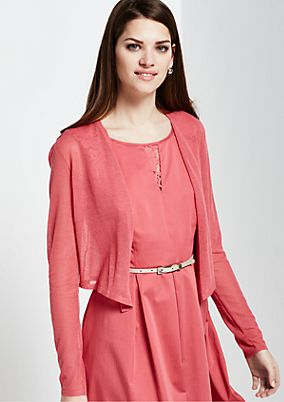 Delicate cardigan with long sleeves from s.Oliver