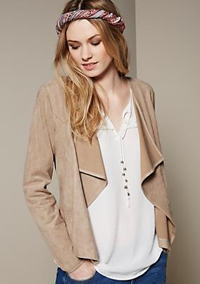 Edle Jacke mit schönen Details