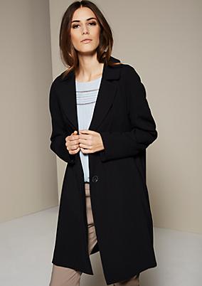 Edler Mantel aus leichtem Krepp
