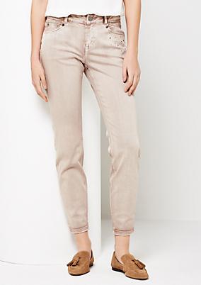 Extravagante Jeans mit aufregender Waschung