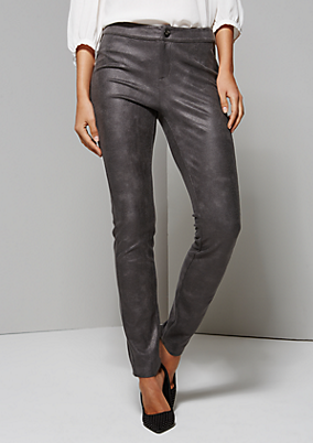Extravagante Pants aus feinstem Fake-Leder