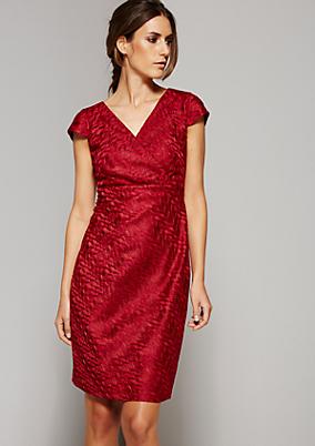 Extravagantes Abendkleid mit aufregendem Muster