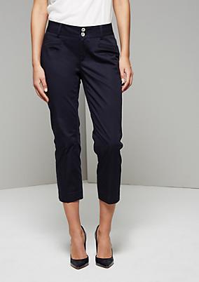 Feminine 7/8-Pants mit raffinierten Detailarbeiten