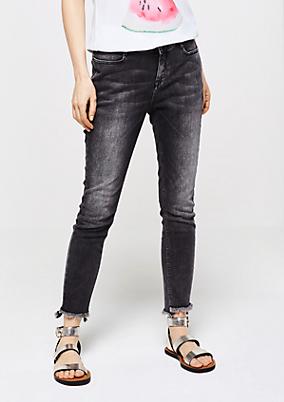 Jeans im roughen Used-Look