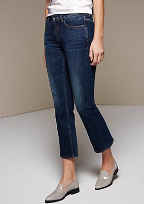 Klassische Jeans im lässigen Vintagelook
