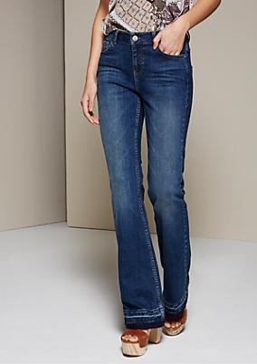 Legere Jeans mit Schlag