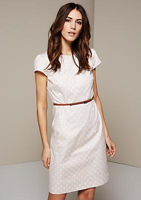 Leichtes Kleid mit klassischem Dot-Muster