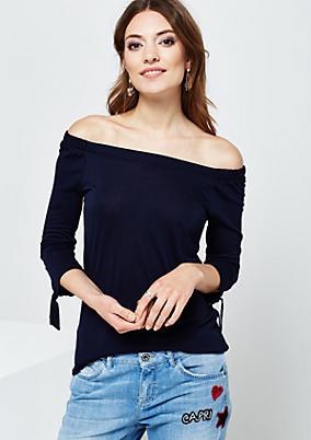 Leichtes Kurzarmshirt mit schönen Details